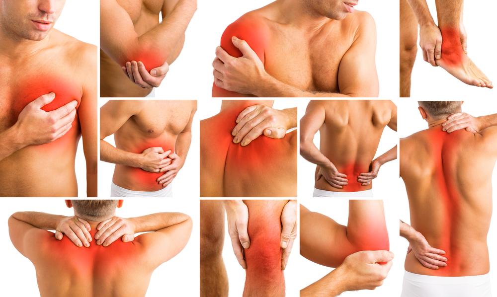 miejsca powstawania bólu