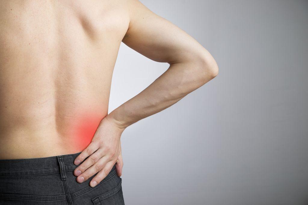 Ból w dolnej części pleców u mężczyzn